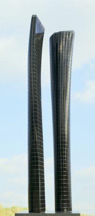 gratte-ciel-projet-I-benoit-luyckx-1987-marbre-noir-belgique