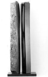 sculpturedoubletrilogiebleueI1989benoitluyckx