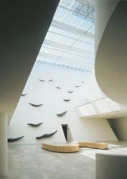 """""""Progression"""" 1995, Palais de Justice d'Evreux - vue d'ensemble"""