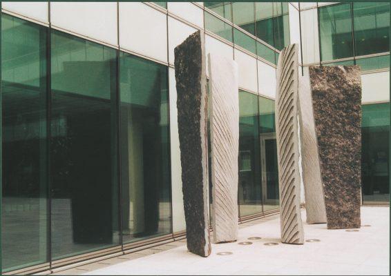 immeuble microsoft 2011 Pierre Bleue Belge Hauteur 3.30 mètres